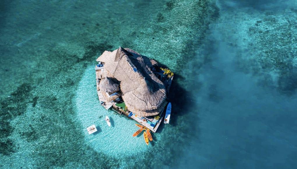 Visit Cartagena: stay at a floating hostel