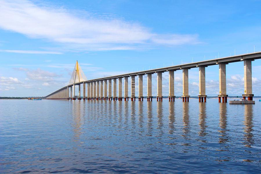 Passeios em Manaus: Ponte do Rio Negro