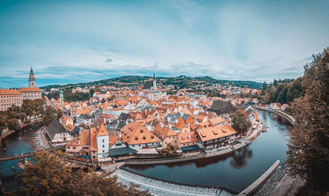 Most beautiful towns in Czech Republic: Cesky Krumlov