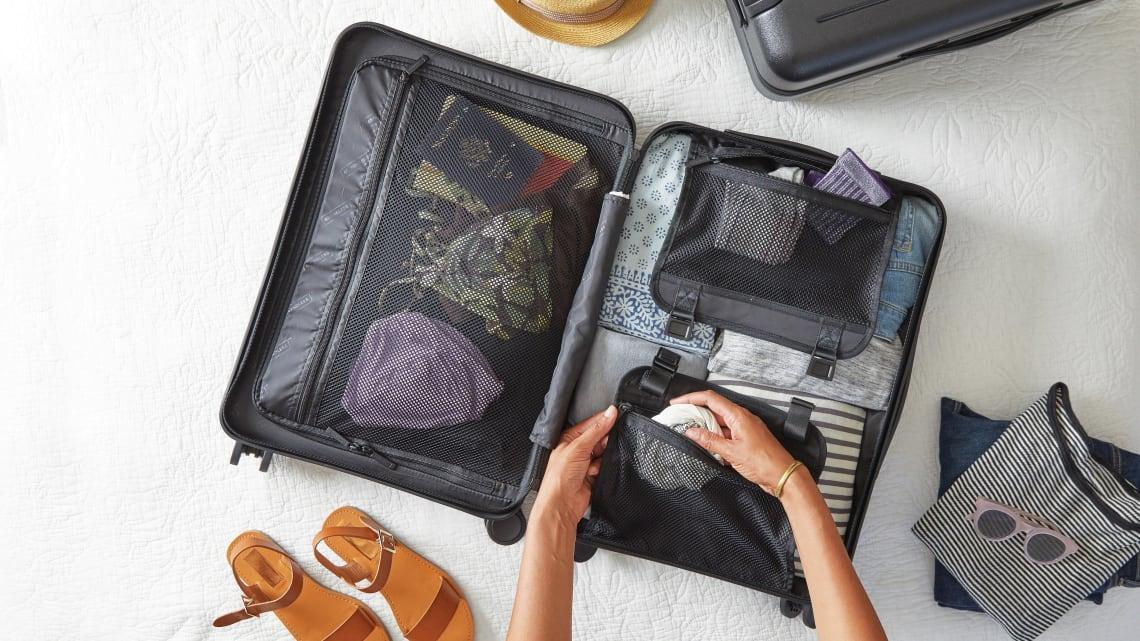 Ways to travel smarter: pack light