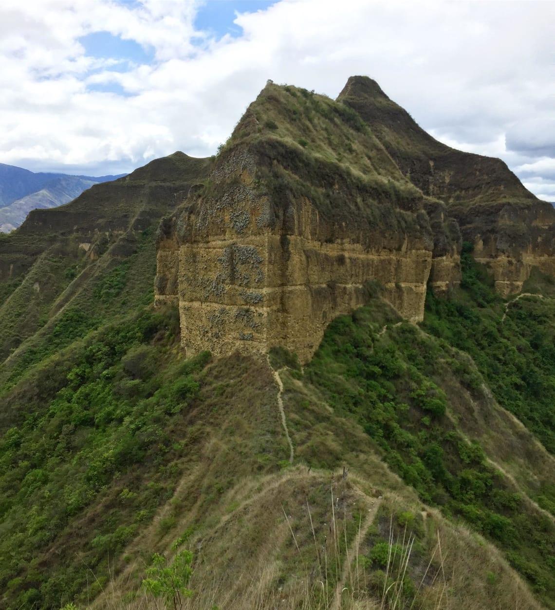 Hiking, Andes Mountains, Ecuador