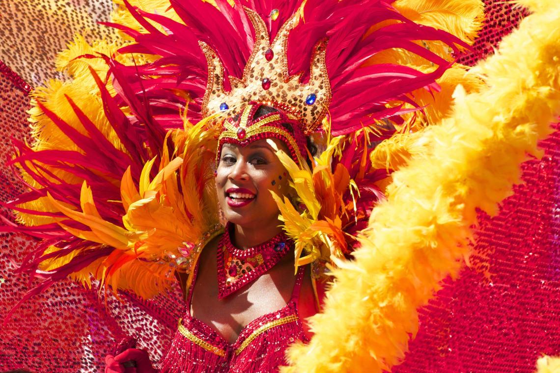 Dancer, Carnival, Rio de Janeiro, Brazil