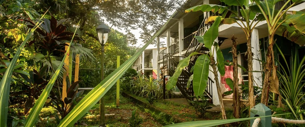 Luxurious hostel in Panama, Central America