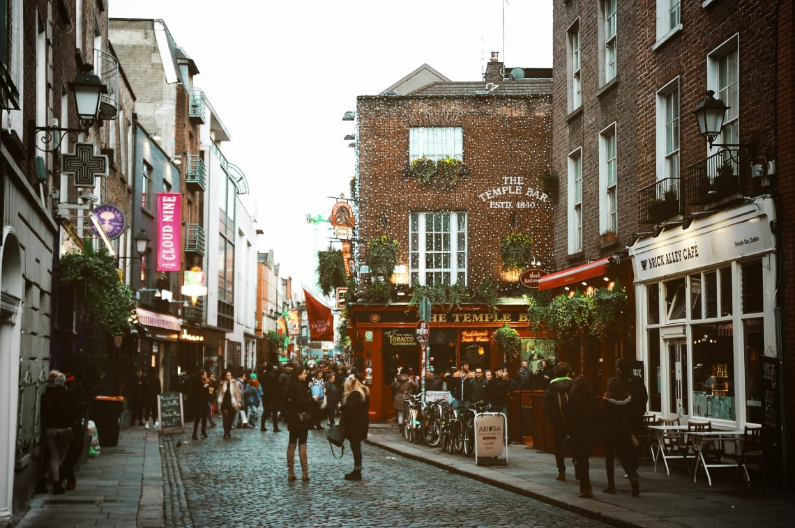 Acomodação gratuita na Irlanda