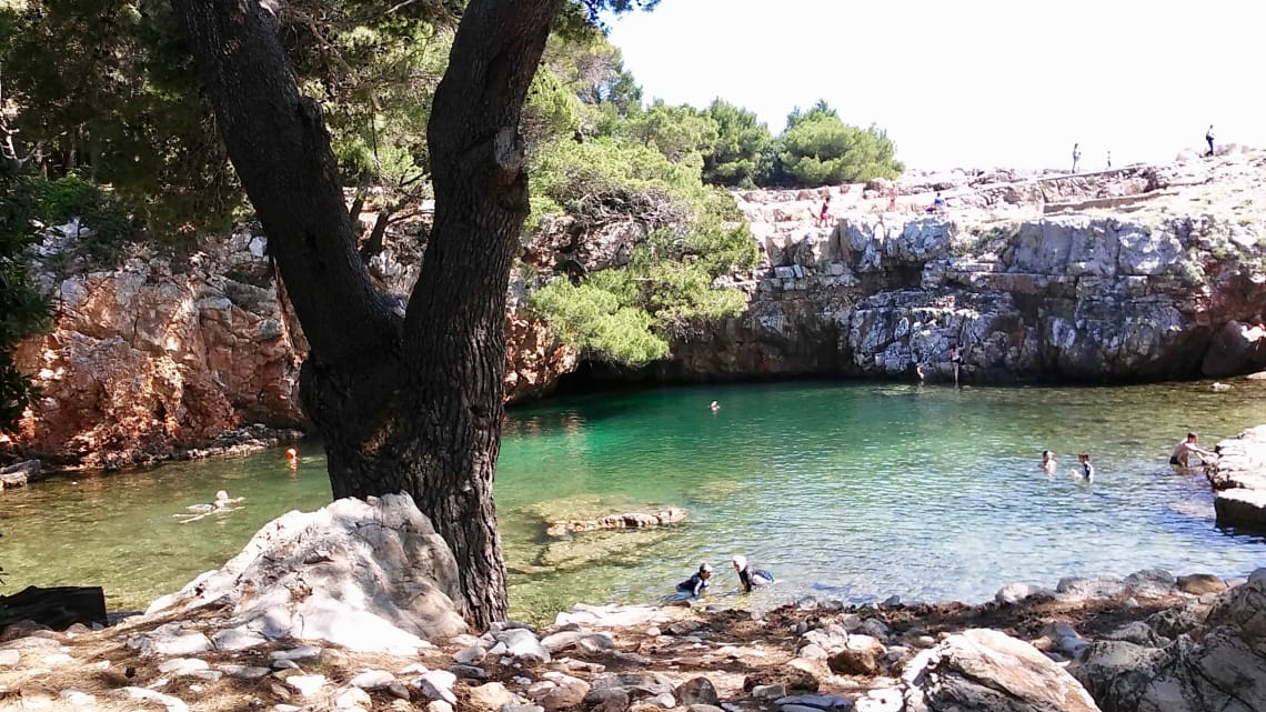 Daytrip to Lokrum Island, Croatia