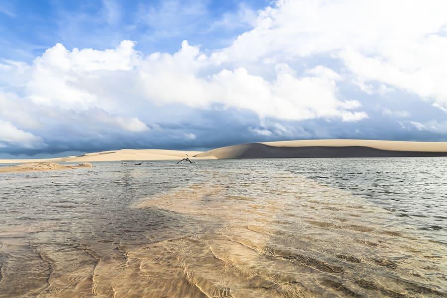 Lençóis Maranhenses, Parque Nacional da região de Barreirinhas