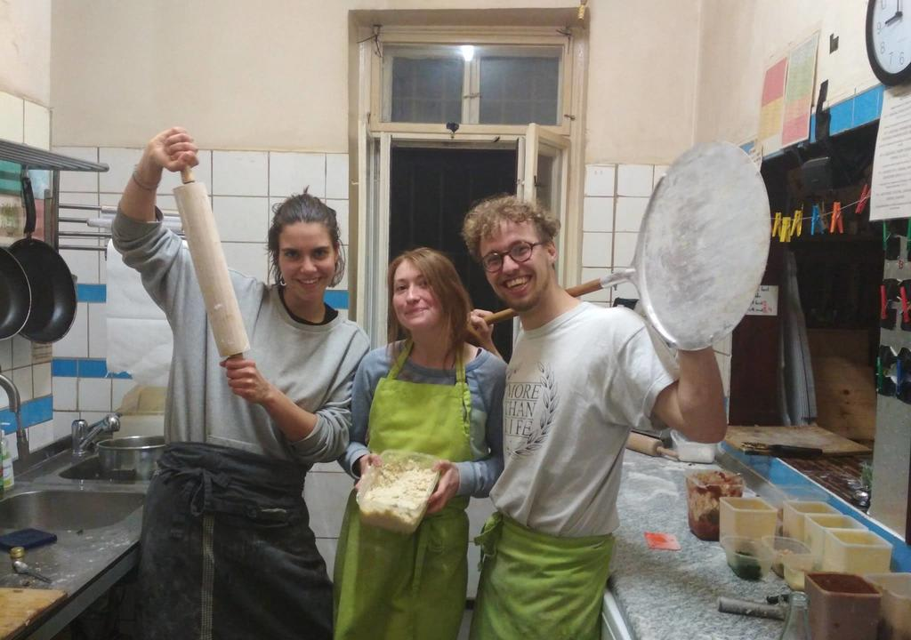 Learn bartending skills at a vegan pizzeria in Leipzig, Germany