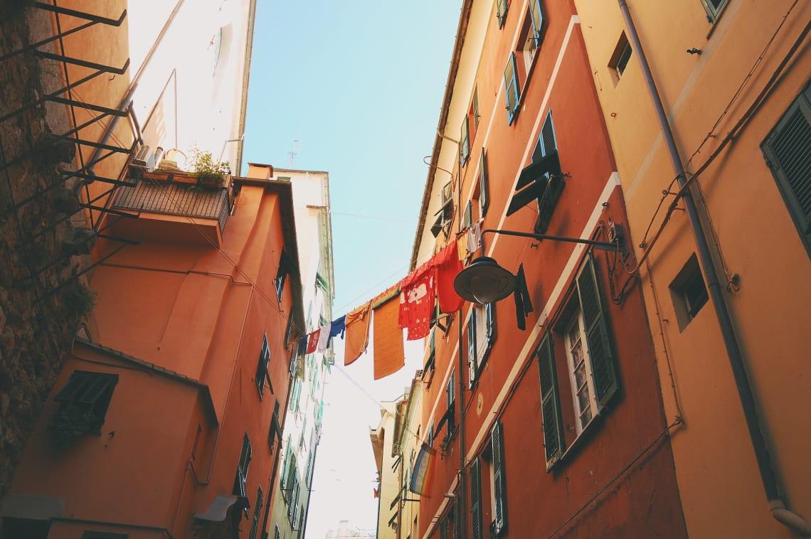 Traveling in Genoa, Italy