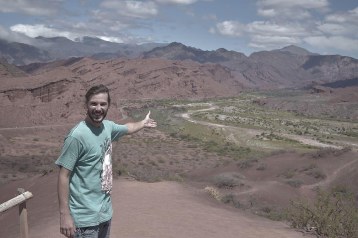 Mi experiencia recorriendo Sudamérica haciendo voluntariados - Worldpackers - recorriendo el norte de argentina viajando