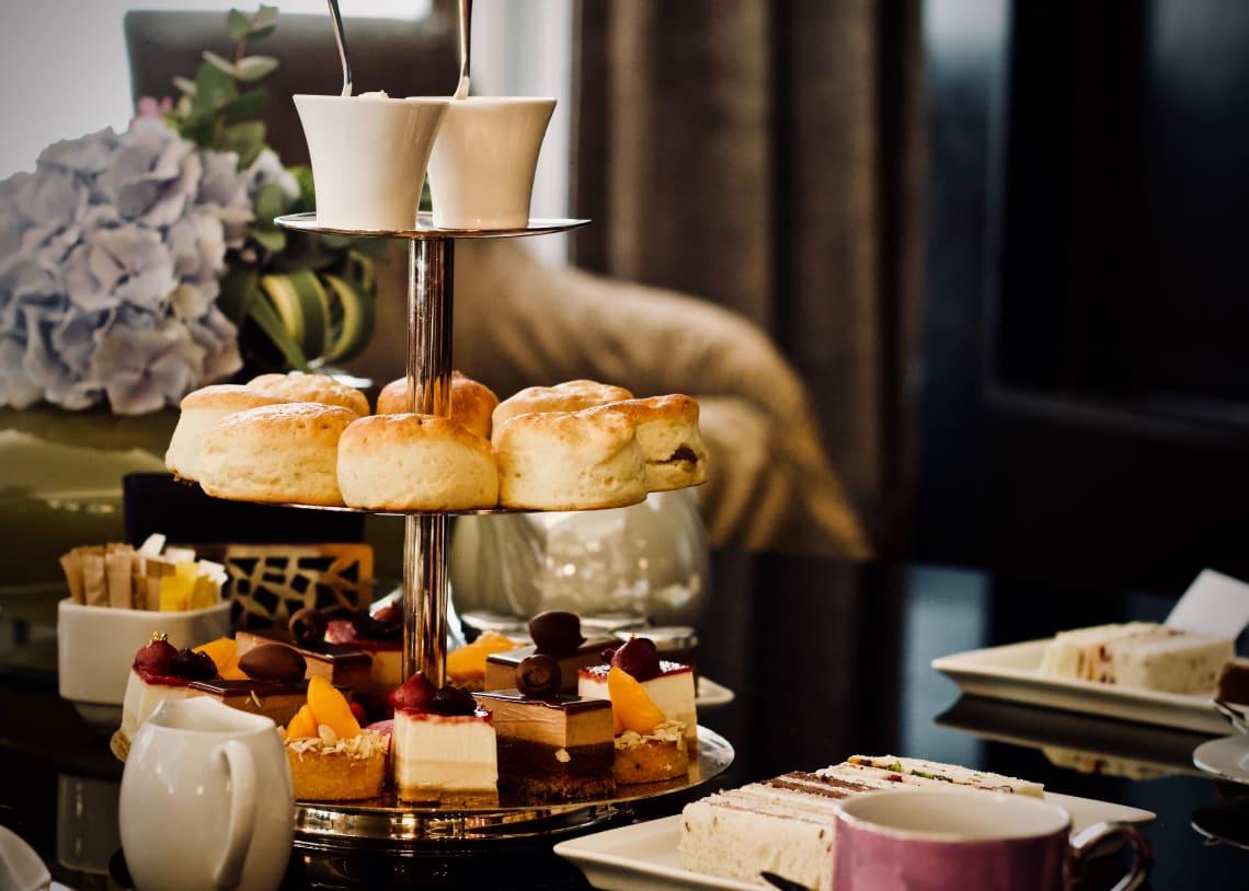 Afternoon tea, London, United Kingdom