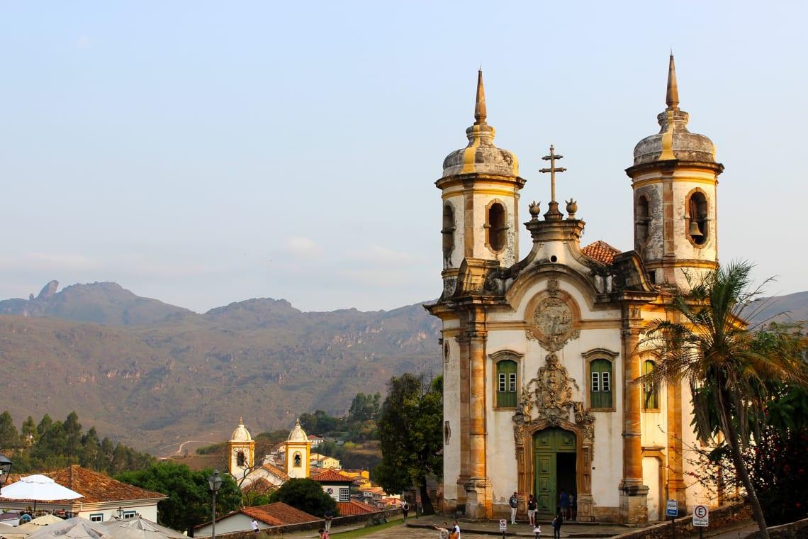Cidades mais baratas do Brasil para ser nômade digital: Ouro Preto