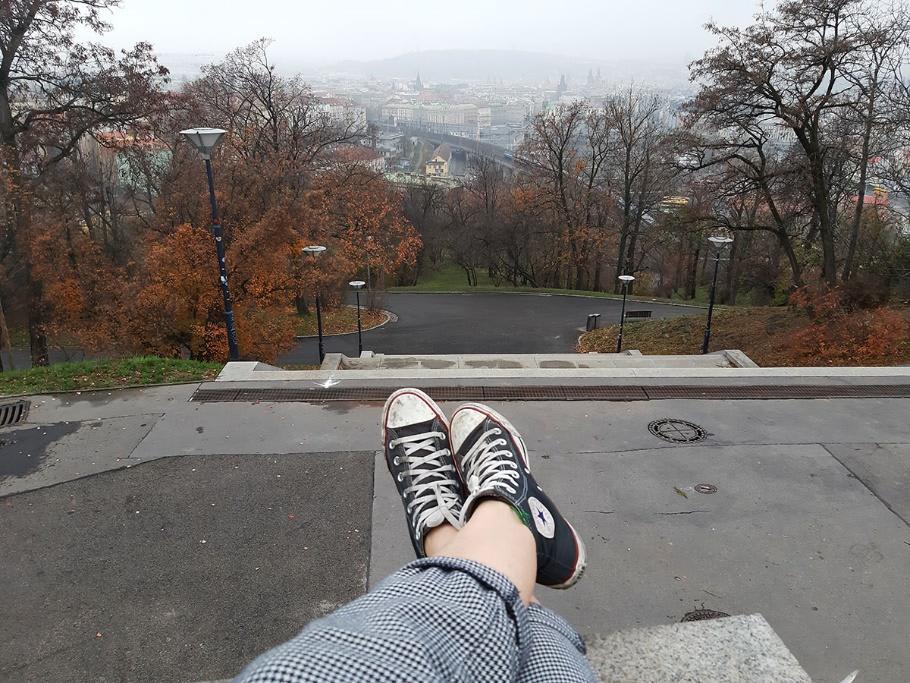 Um dos meus lugares preferidos de Praga, cidade que decidi passar um mês e viver intensamente.