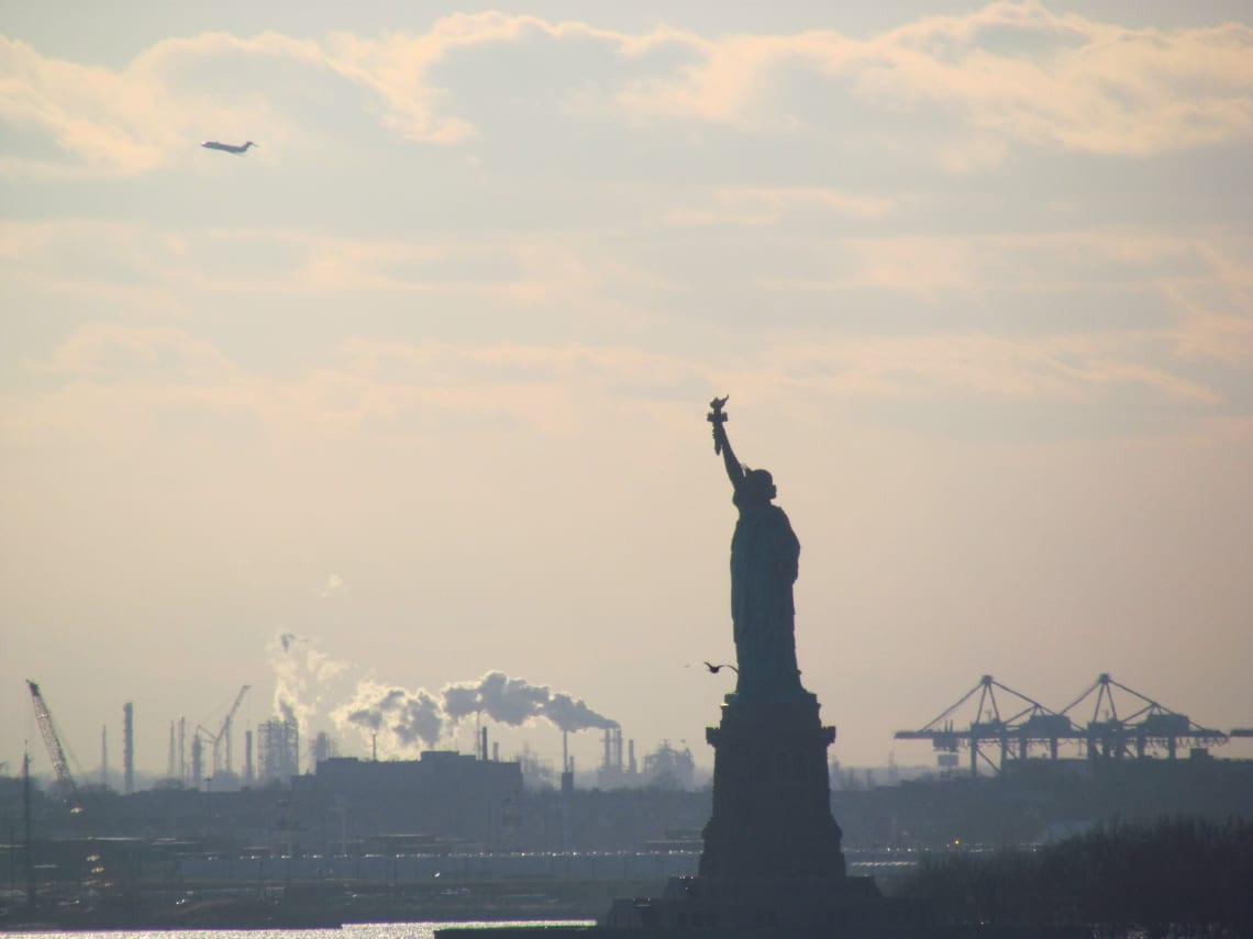 Guía para visitar Nueva York por primera vez: qué ver y recomendaciones - Worldpakcers - la estatua de la libertad