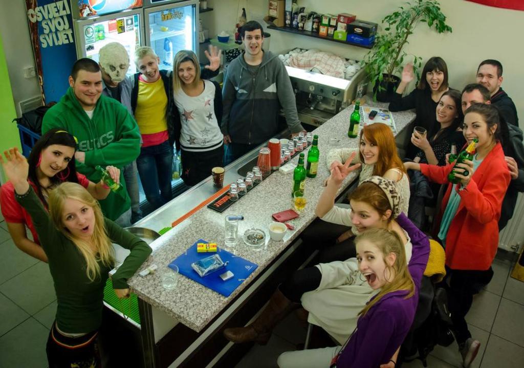 Los mejores anfitriones Worldpackers para voluntariar en el 2018 -Funk Lounge Hostel - Zagreb, Croacia