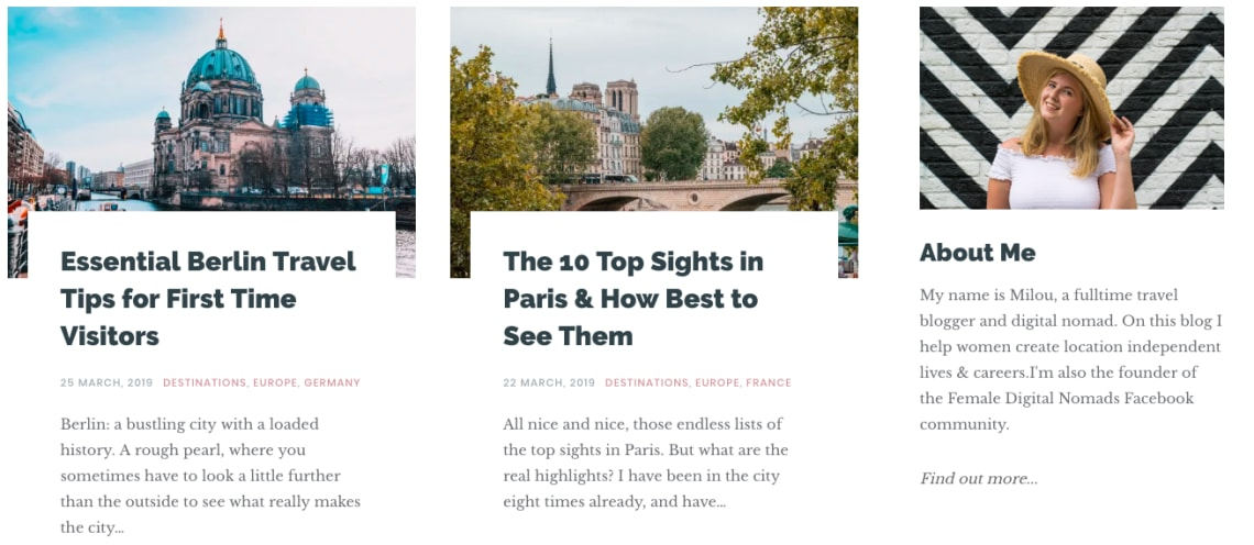 Best digital nomad blogs - Explorista