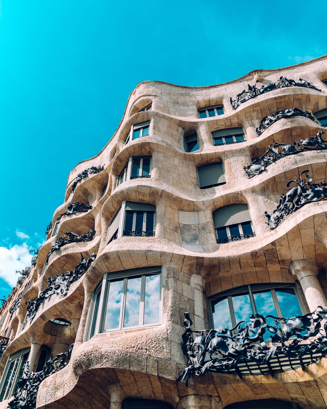 Beautiful architecture, Barcelona, Spain