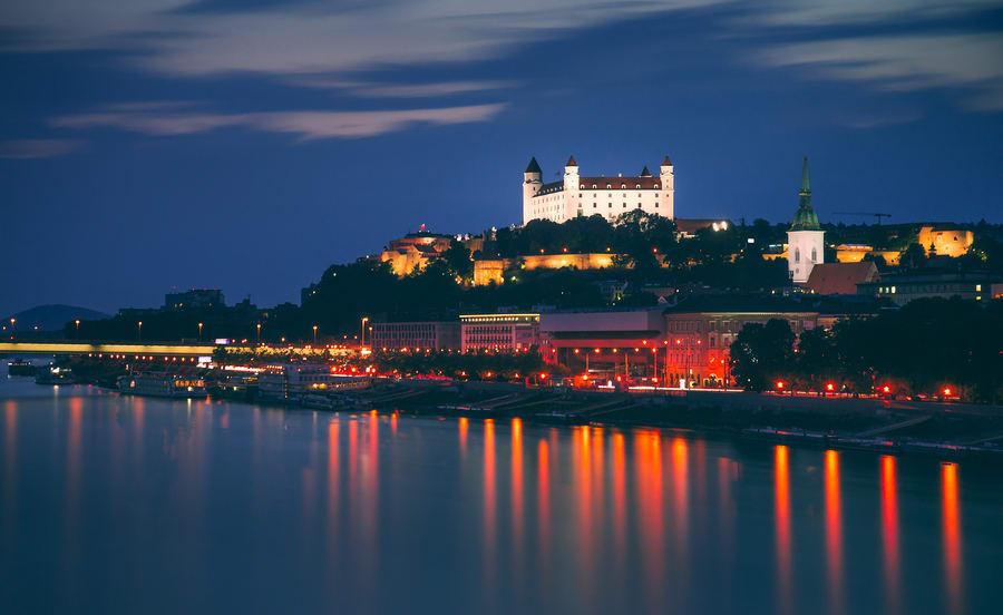 Cidades baratas para viajar na Europa: Bratislava.