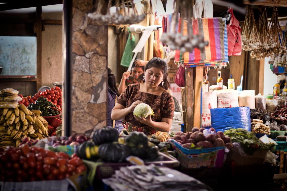Things to do in Guatemala: shop at Chichicastenango Market