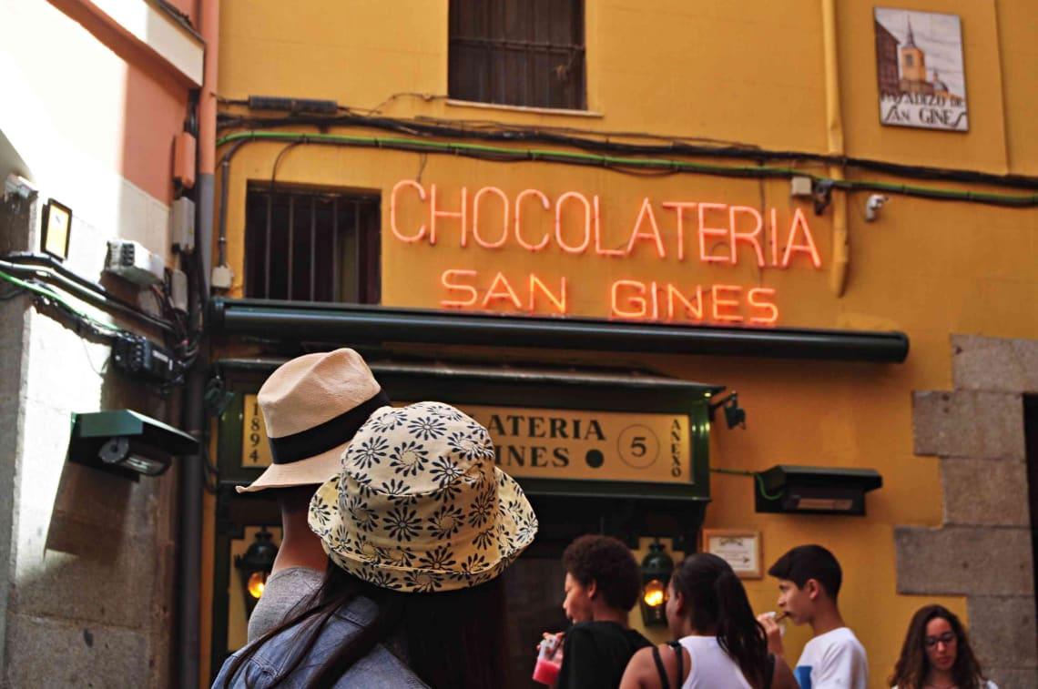 Chocolateria, Madrid, Spain