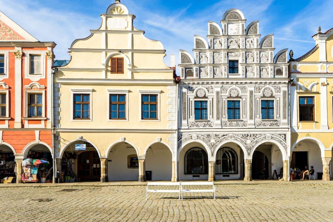 Beautiful towns to visit in Czech Republic: Telc