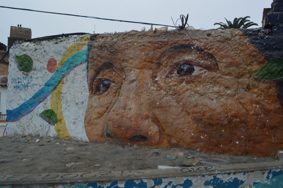 Ruta mochilera para visitar Perú: qué hacer y recomendaciones - Worldpackers - arte callejero en barranco lima