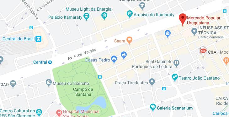 Mercados de rua do Rio de Janeiro: Saara