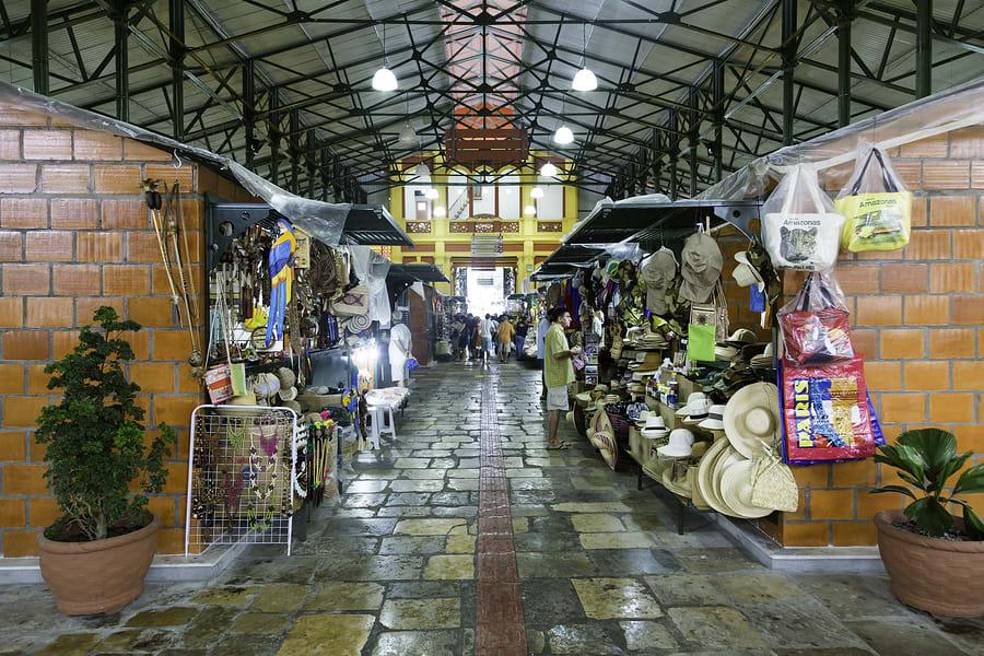 Passeios em Manaus: Mercado Municipal