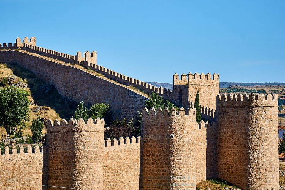 Cidades espanholas: Ávila, Espanha