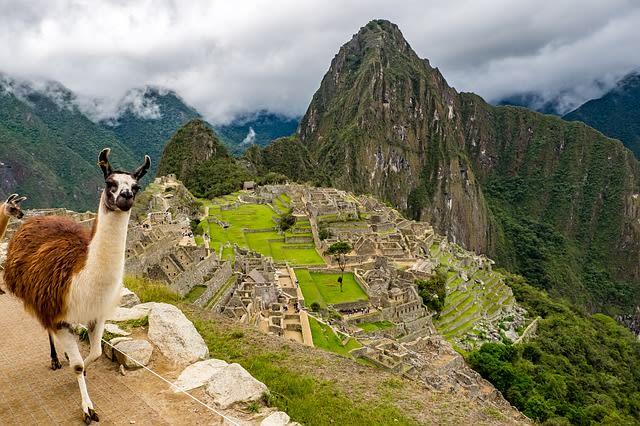 Há três opções de ingressos para conhecer Machu Picchu