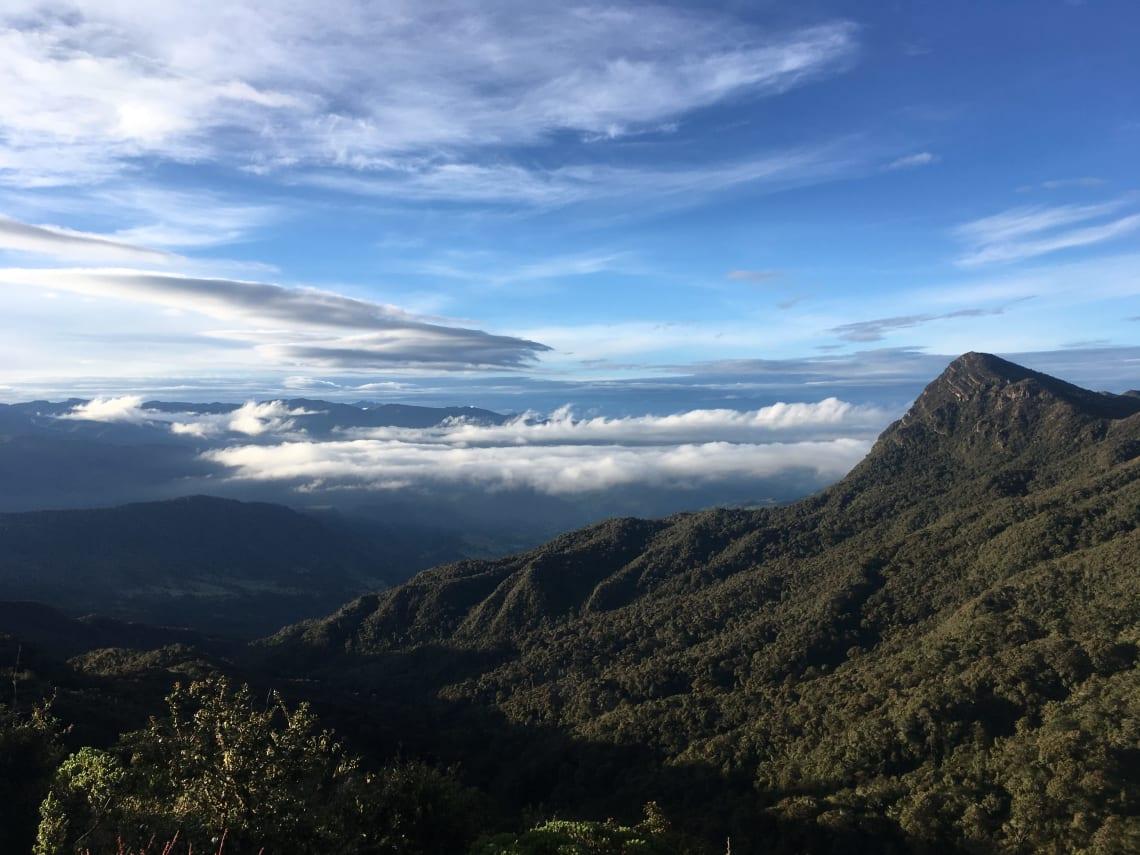 Mountain vista, Colombia