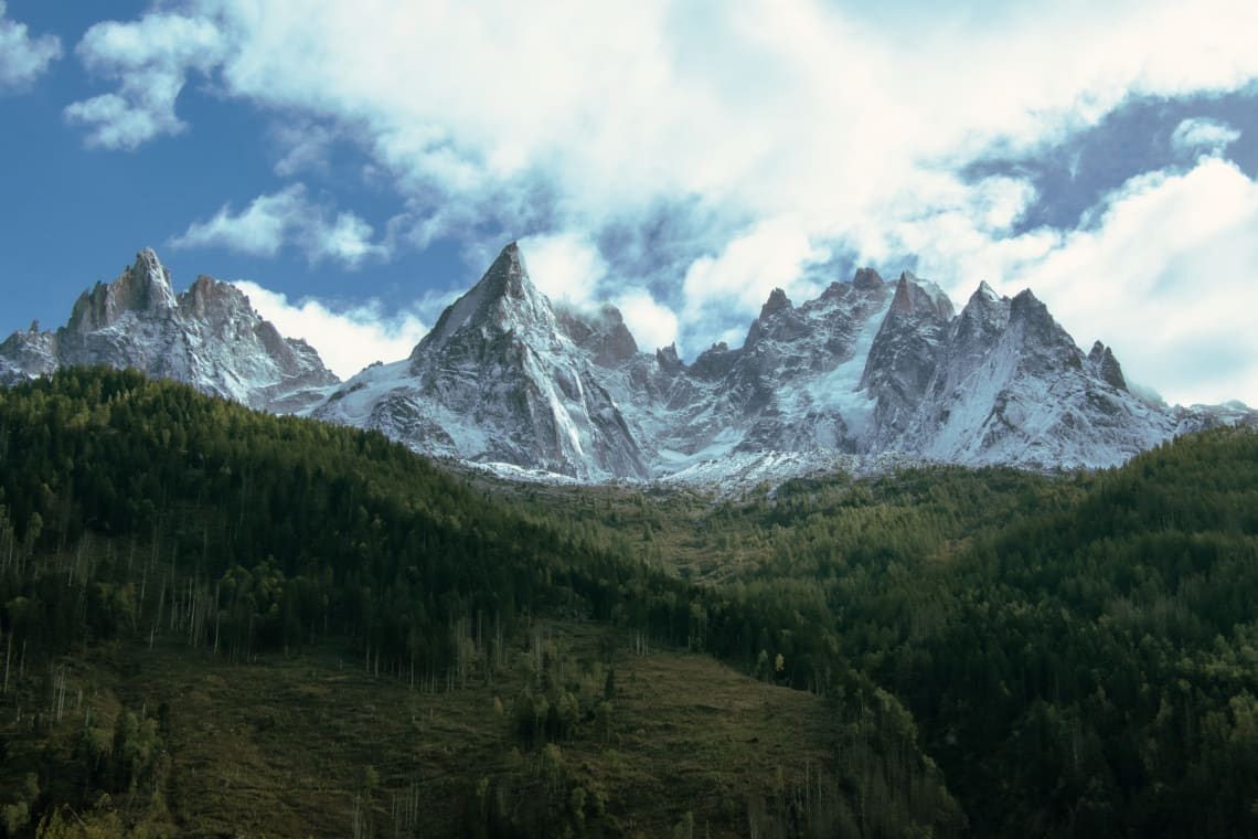 Best European destinations for nature lovers: Chamonix, France