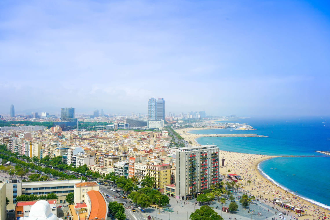 City of Barcelona, Spain