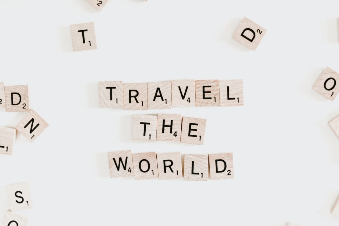 How to travel the world while in college