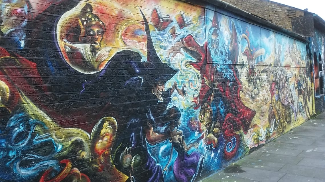 street art in Eastern London