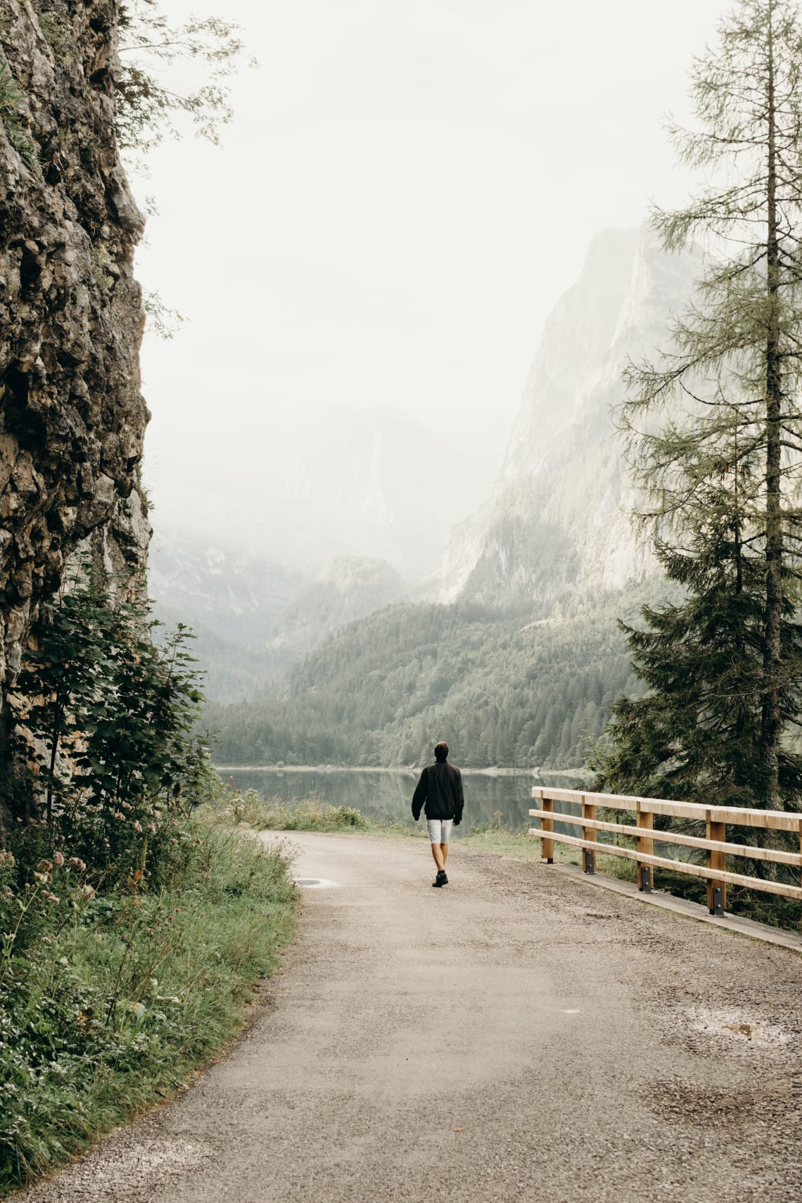 Solo traveler, Alps, Europe