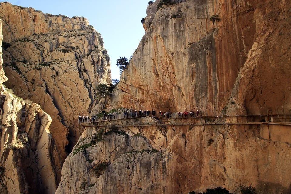 Cidades espanholas: El Caminito del Rey