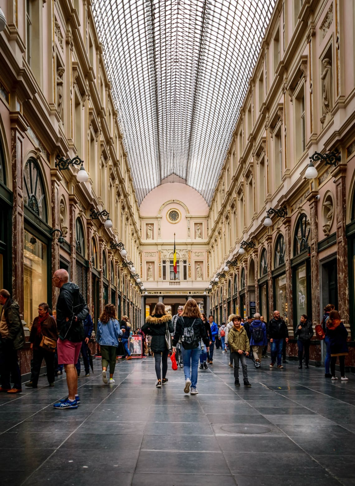 Places to visit in Brussels: Galeries Royales Saint-Hubert