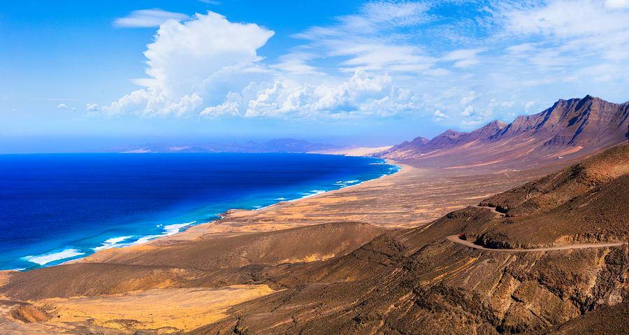 Praia de Cofete, Fuerteventura, Espanha