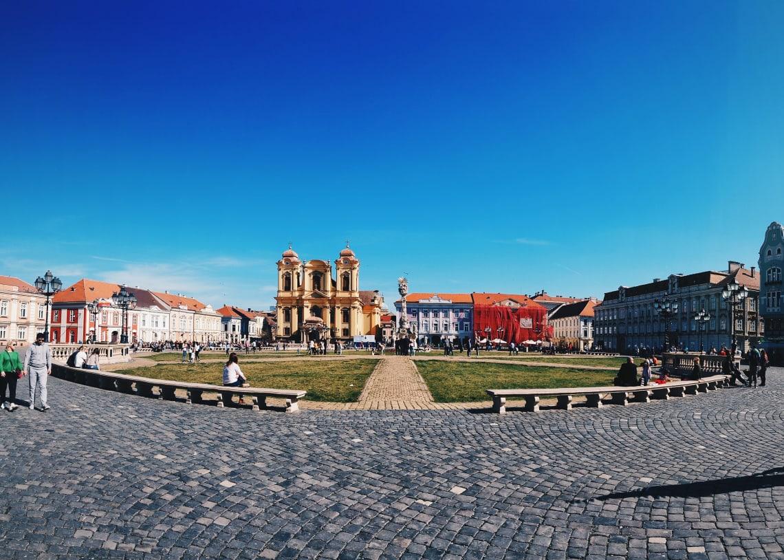 Central Square,Timisoara, Romania