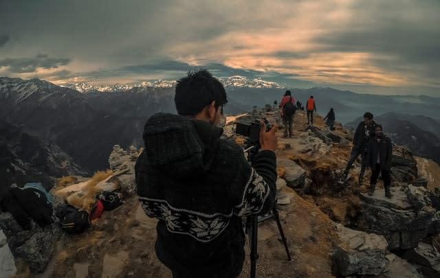 Ao aprender fotografia, pratique com seus amigos