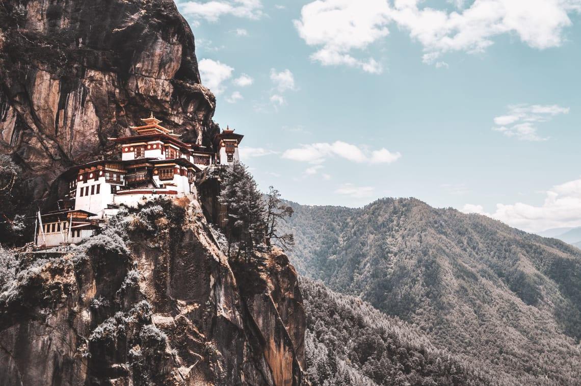 Inspiring places:Paro Taktsang, Bhutan