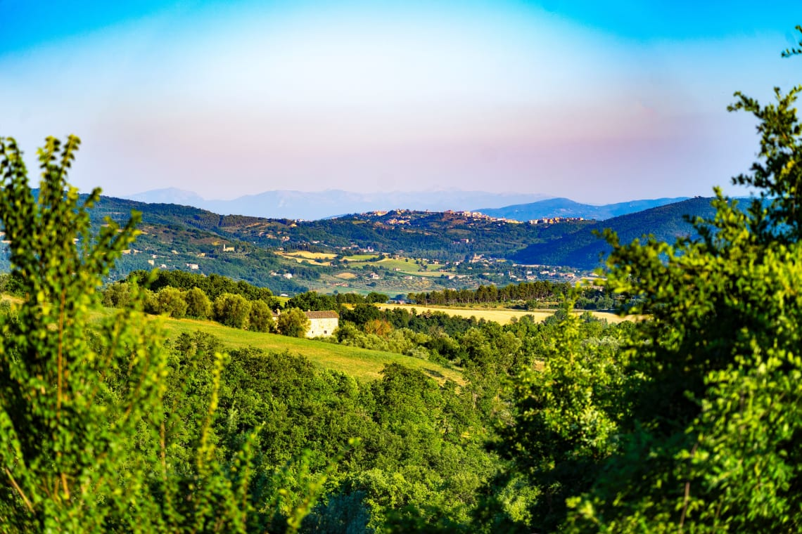 Best European destinations for nature lovers: Umbria, Italy