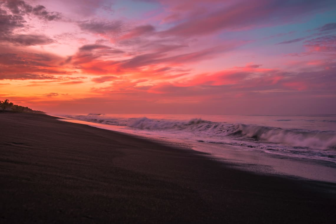 Fun things to do in Guatemala: surf in El Paredon