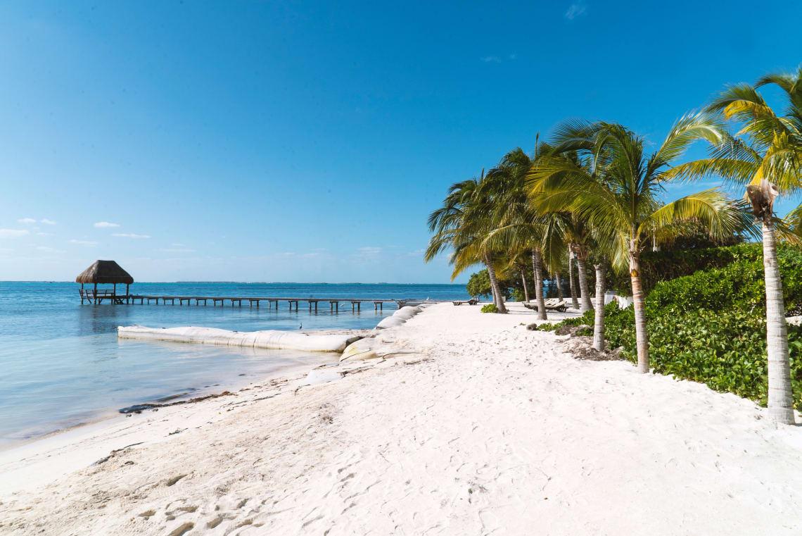 As melhores praias de Cancún