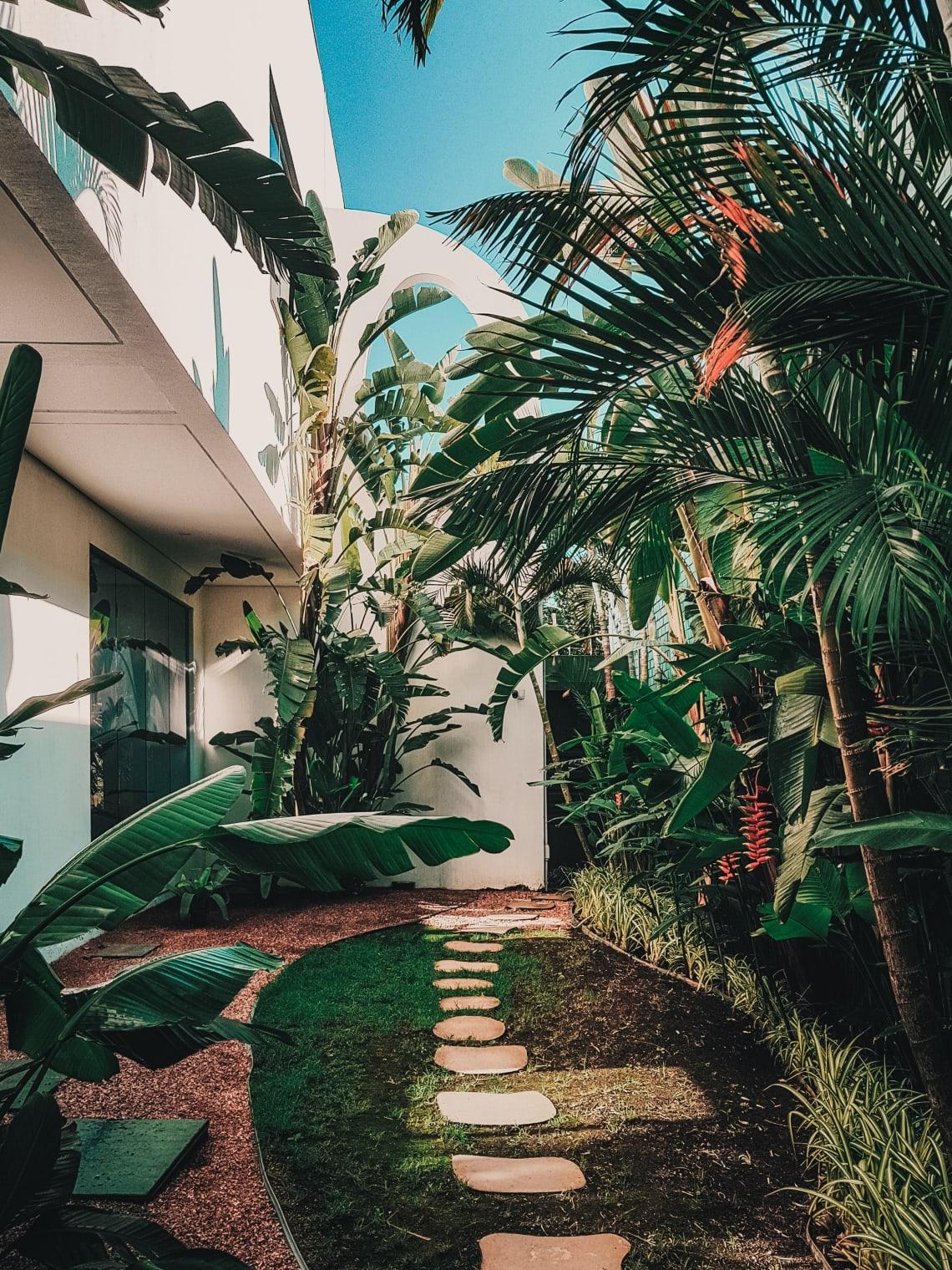 Stylish eco-friendly resort