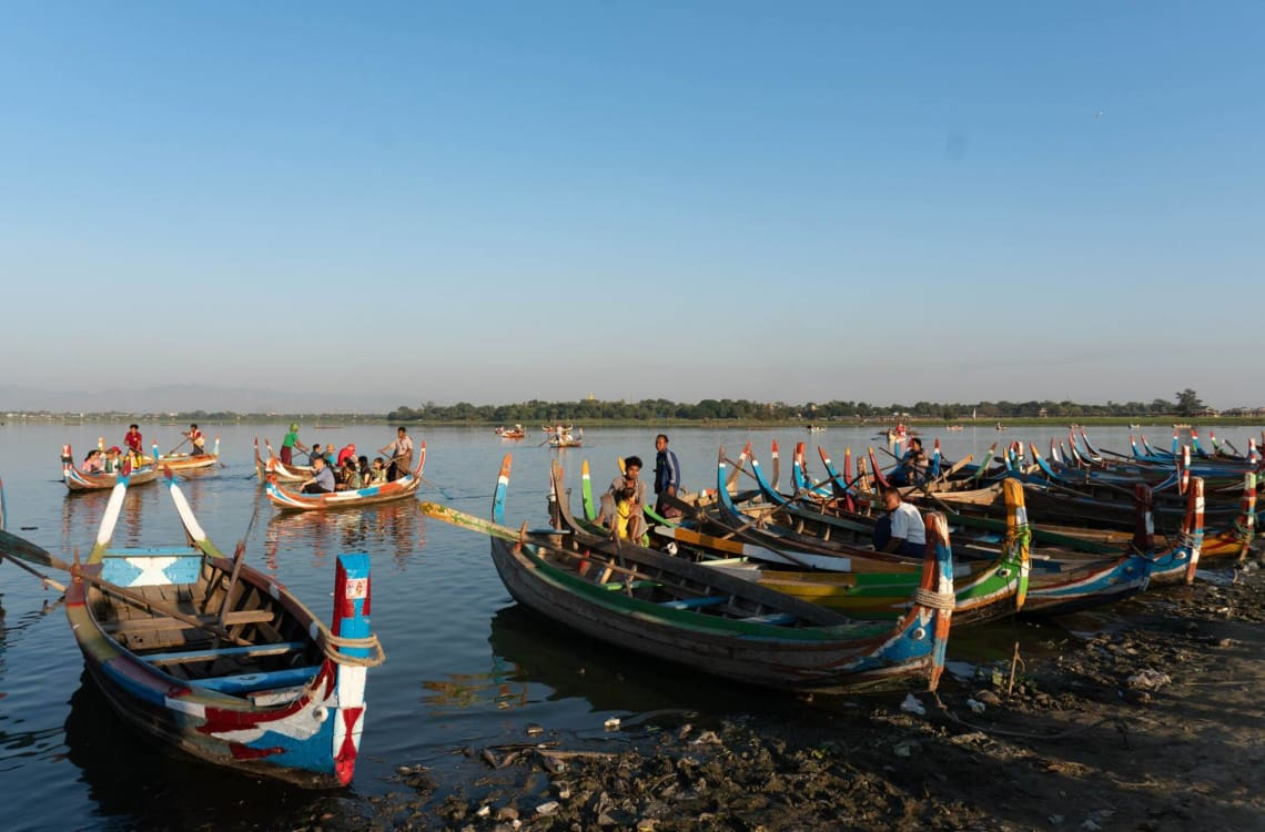 Viajar a Myanmar, un país recién abierto al turismo - Amarapura - Worldpackers