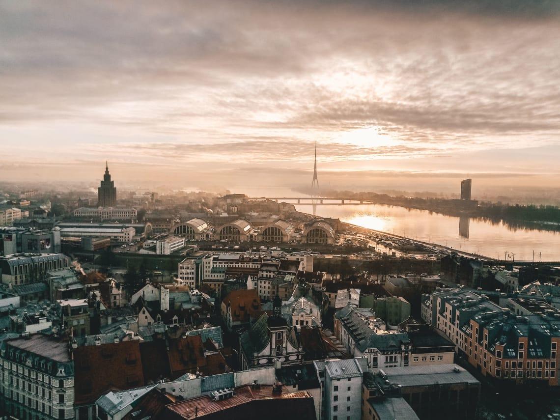 Cidades baratas para conhecer na Europa: Riga.