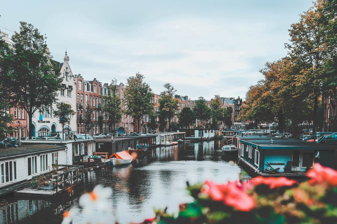 How to travel Europe on a backpacker's budget: Amsterdam, Netherlands