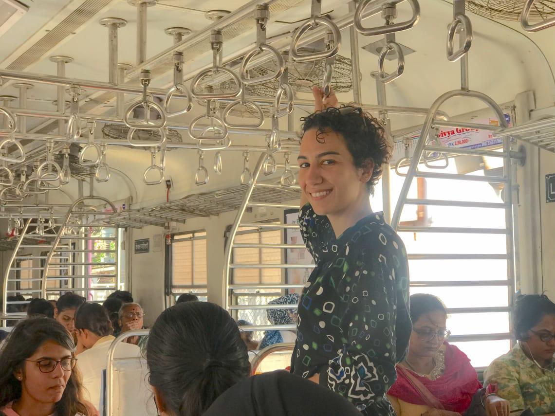 Vagão só para mulheres na Índia