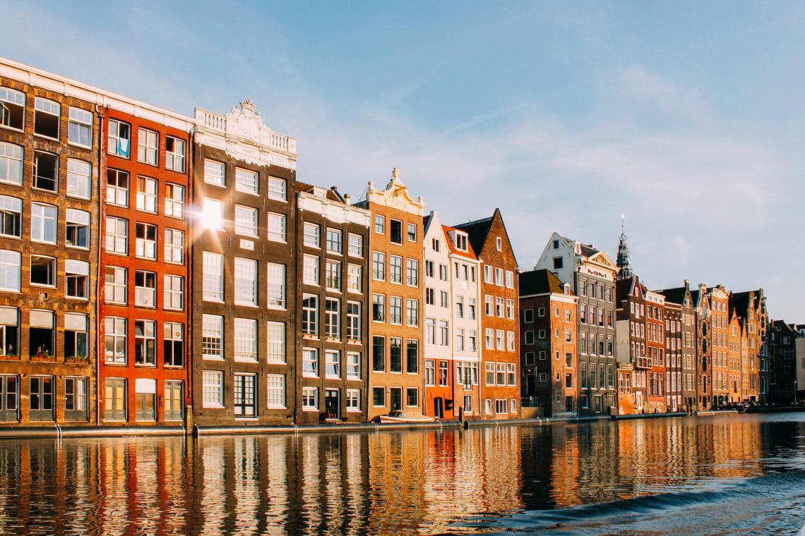 Beautiful Amsterdam, Netherlands